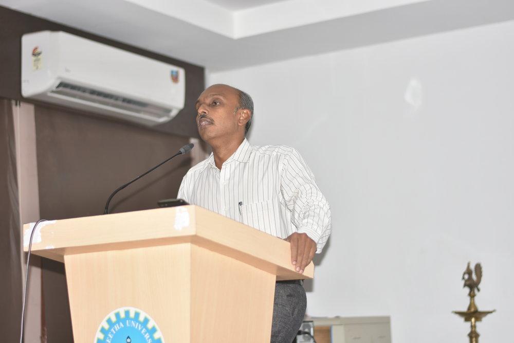 SPEAKER: Mr.K.Inbavijayan, International Arbitrator