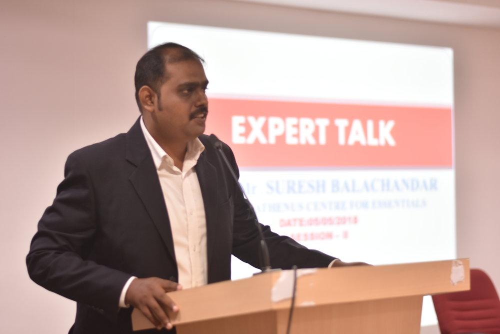 SPEAKER: Mr. Suresh Balachandar