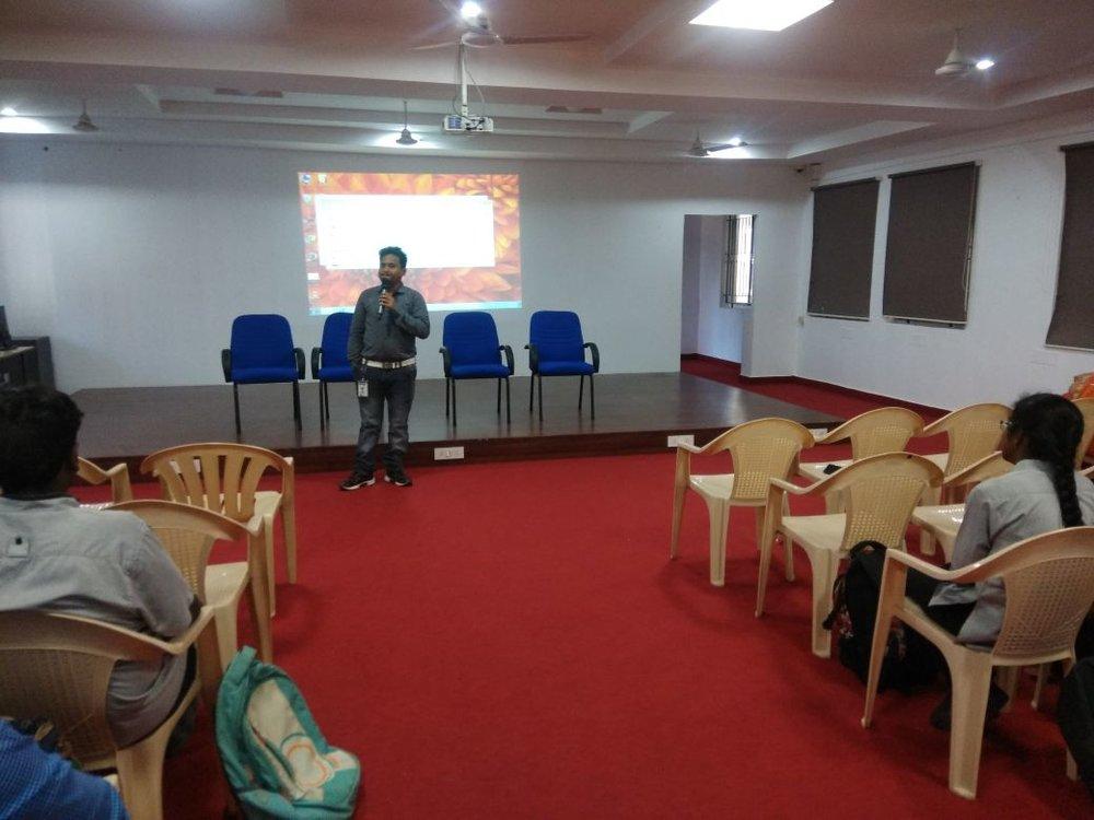 Speaker :Mr. Praveen Kumar Rajendran