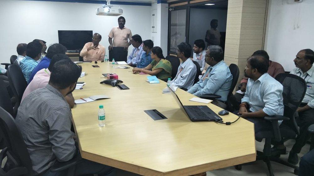 speaker: Chairman Sri. K. Balasubramanian of PMAC Pvt.Ltd