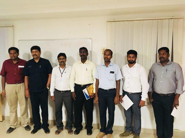 chief guest: Dr. R. Manimaran from VIT, Chennai