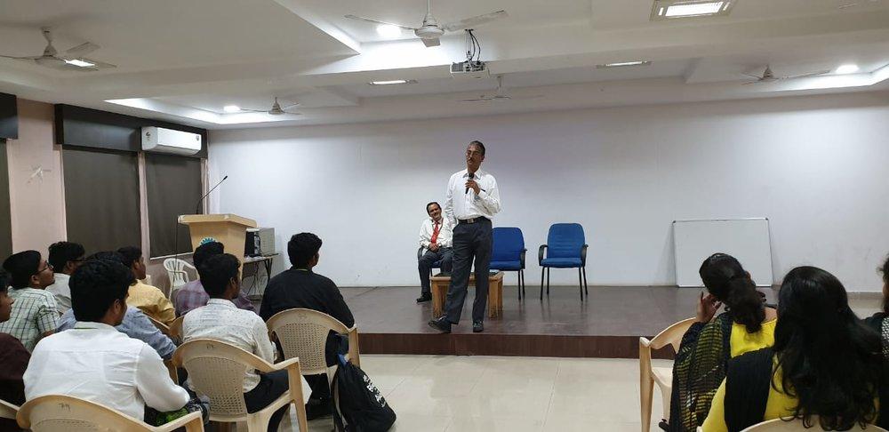 SPEAKER:Mr. Jaijash Tatia who is a co-founder of Stucred AND Mr. R. Natarajan MD, EGS Computer India Private Ltd