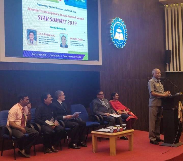 speaker: Dr.E.Bhaskaran, Deputy Director(Technical)(EDP), Department of Industries and Commerce, Government of Tamil Nadu., Dr.Fabio Celani, Assistant Professor School of Aerospace Engineering, Sapienza University of Rome, Italy.