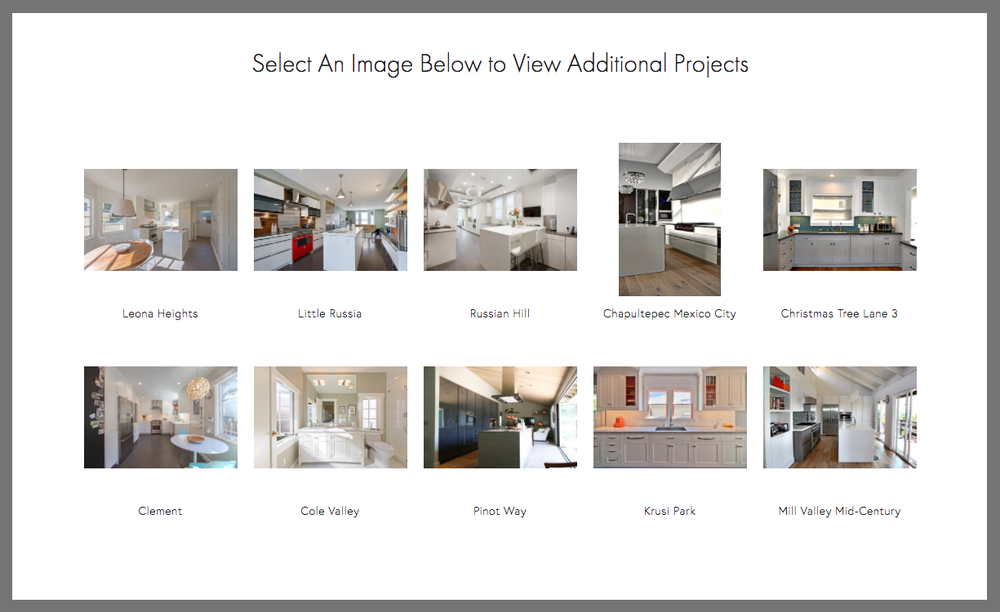 A clean solution for multiple galleries.