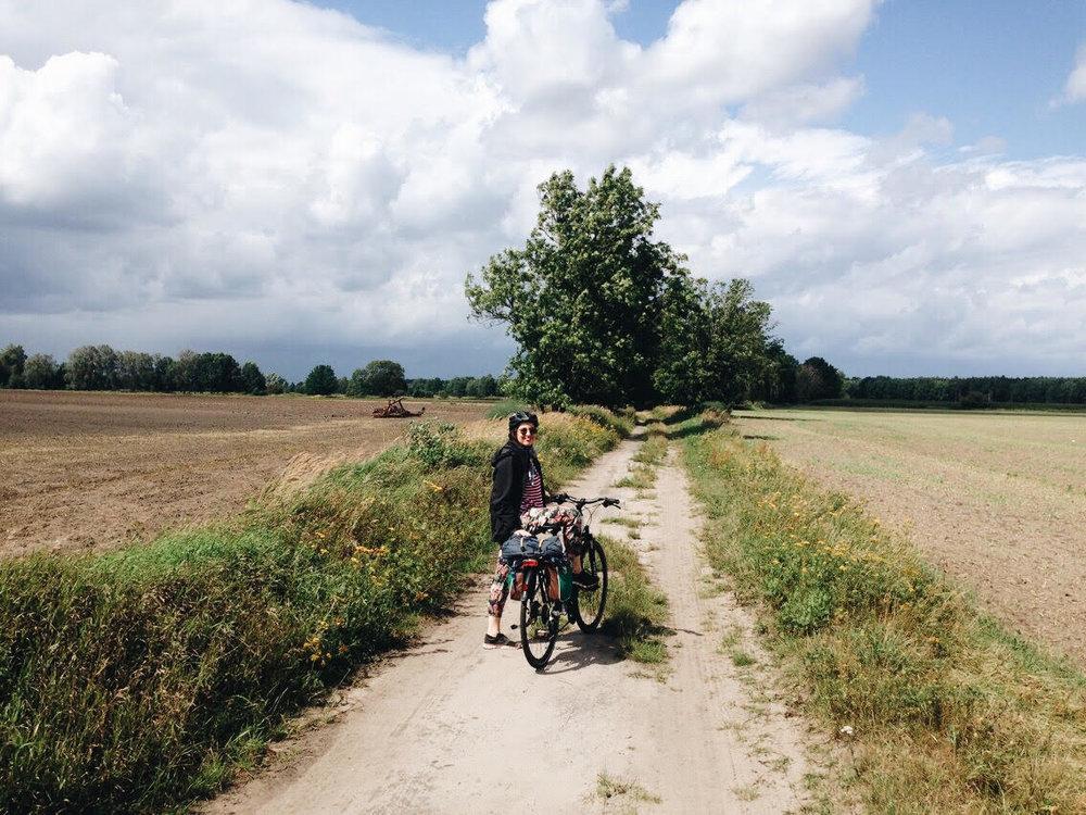 Mit Julia unterwegs im Rheinsberger Seengebiet