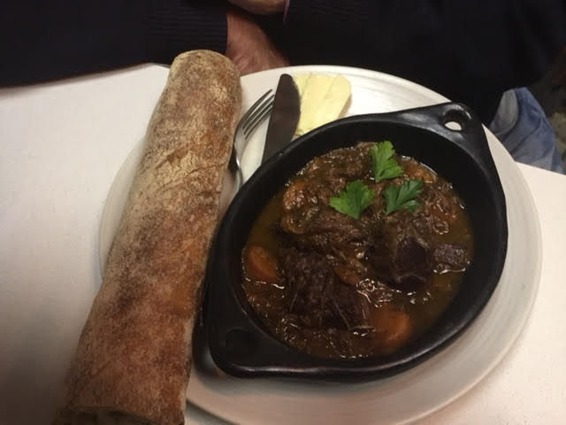 48 hr Beef Bourguignon, special recipe from Lyon, France.