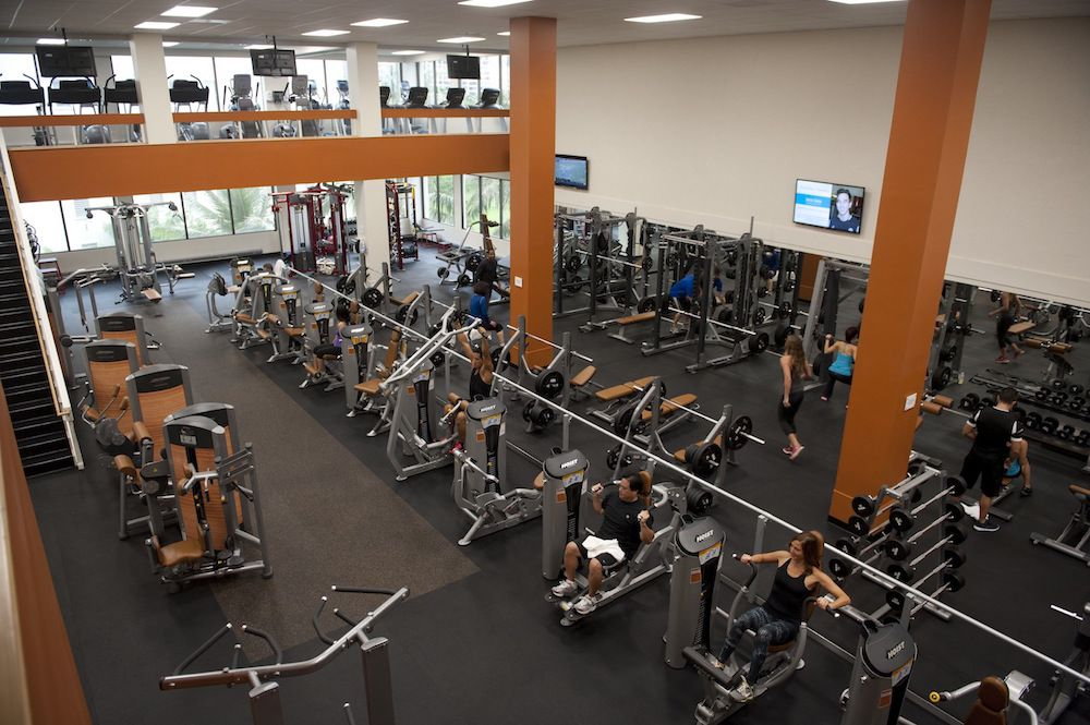 State of the art fitness center at the Honolulu Club