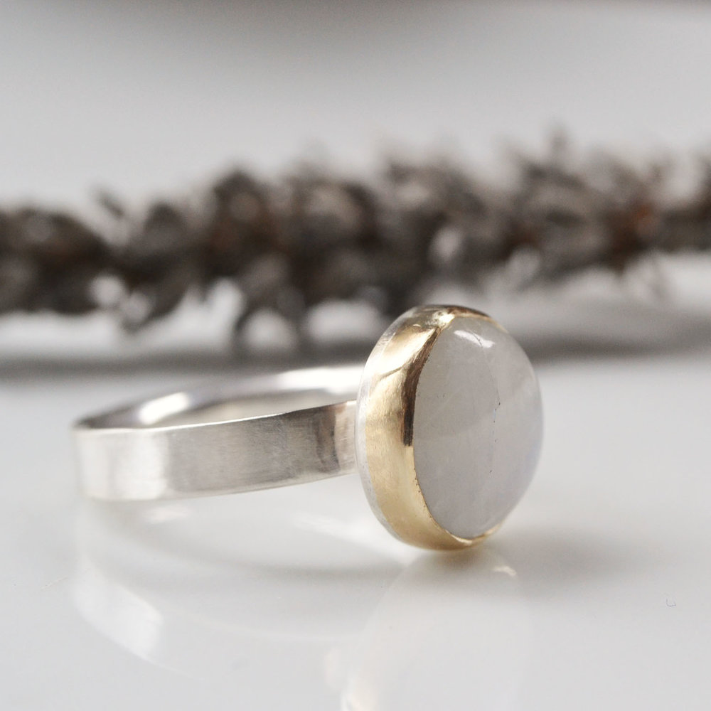 moonstone, silver and gold ring.jpg