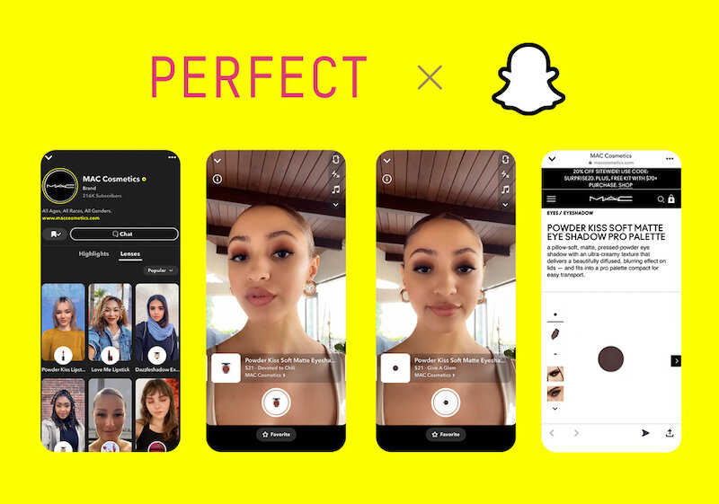 Perfect Corp. and Snap Announce AR Beauty Try-on and Purchase Experience  --  Retail Technology Innovation Hub | ExBulletin