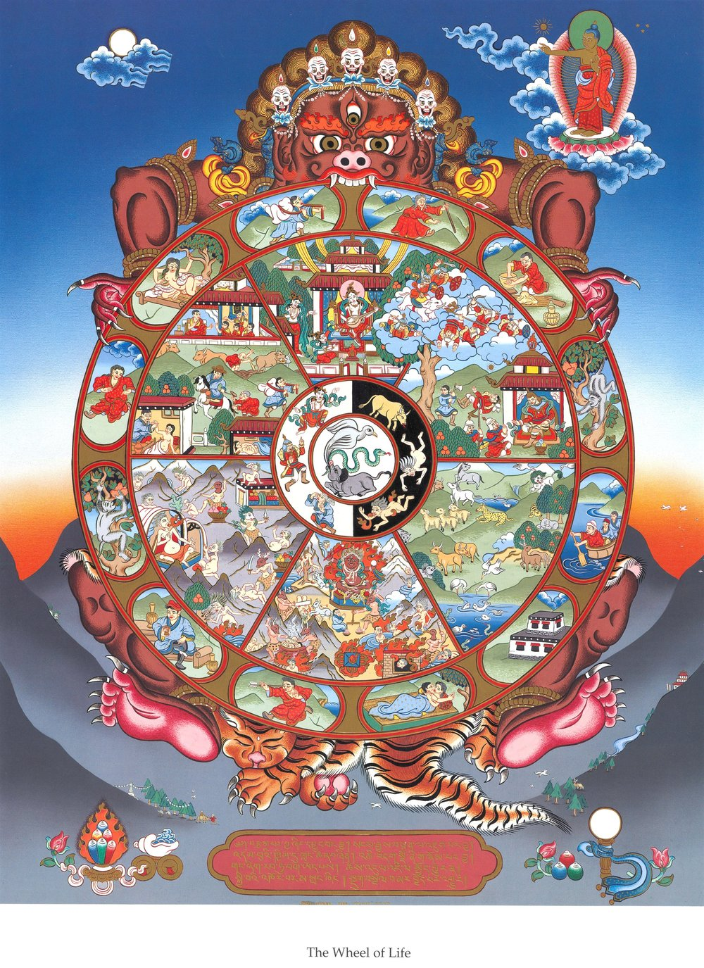 六道轮回图 - The Wheel of Life