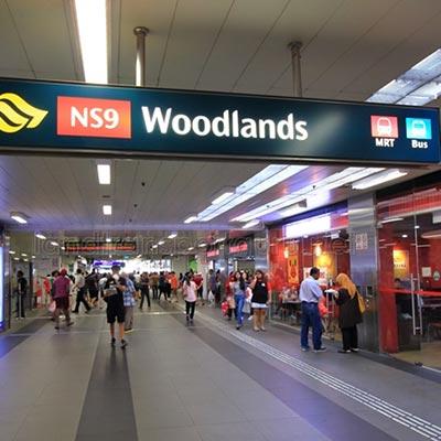 Woodlands MRT NS9