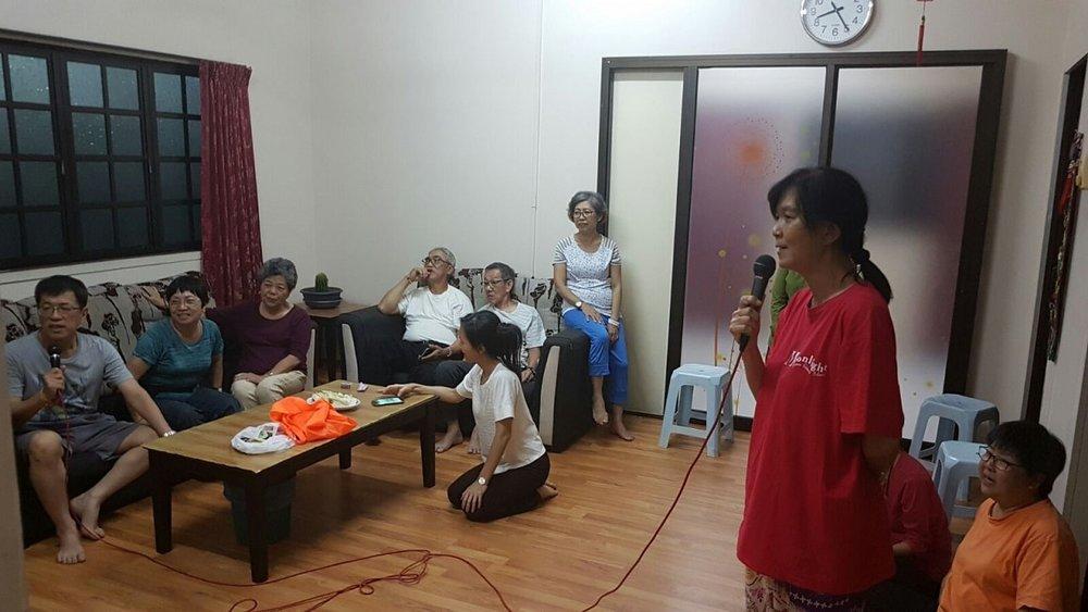 A lively Karaoke session together.
