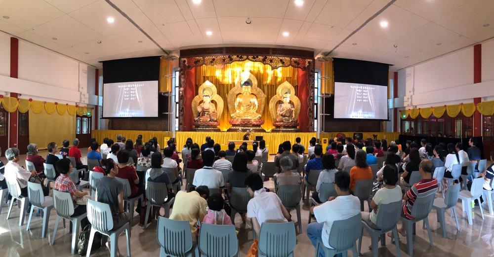 祖圣法师讲述释迦牟尼佛的功德