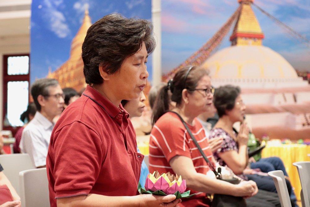 来到四楼聚宝堂,世界各地著名佛塔佛寺的展览尽收眼帘,由热情的解说员讲解佛塔相关事迹!