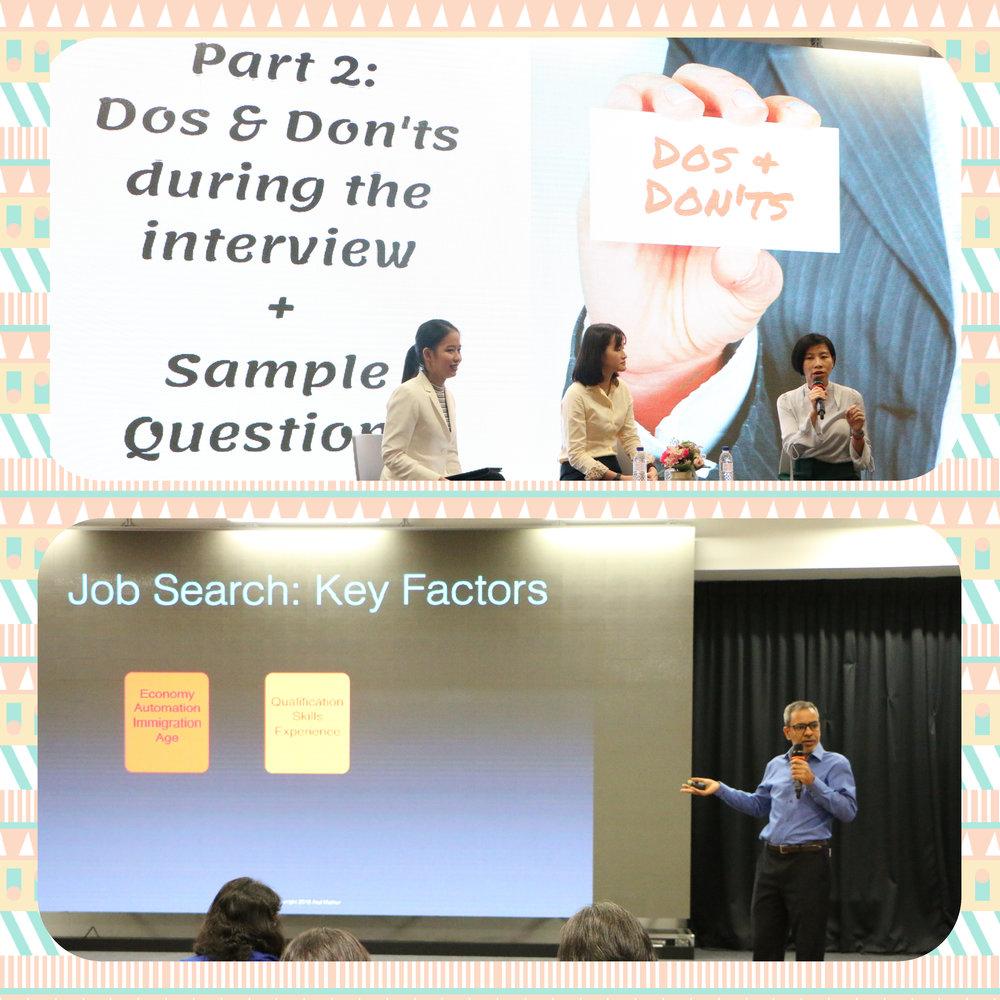 讲师们分享如何有效地求职心得!