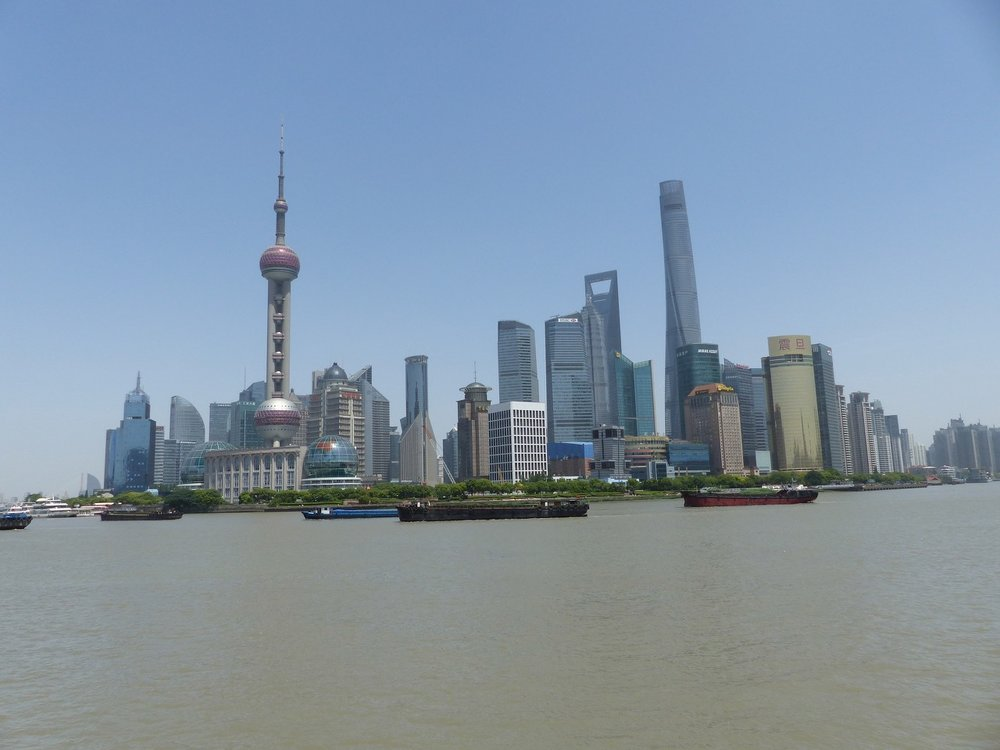 Wolkenkratzer Pudong, Shanghai