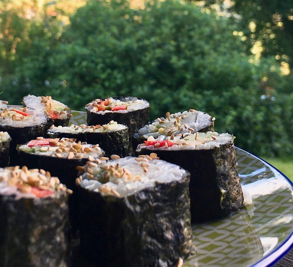veganes Sushi - einfach lecker!