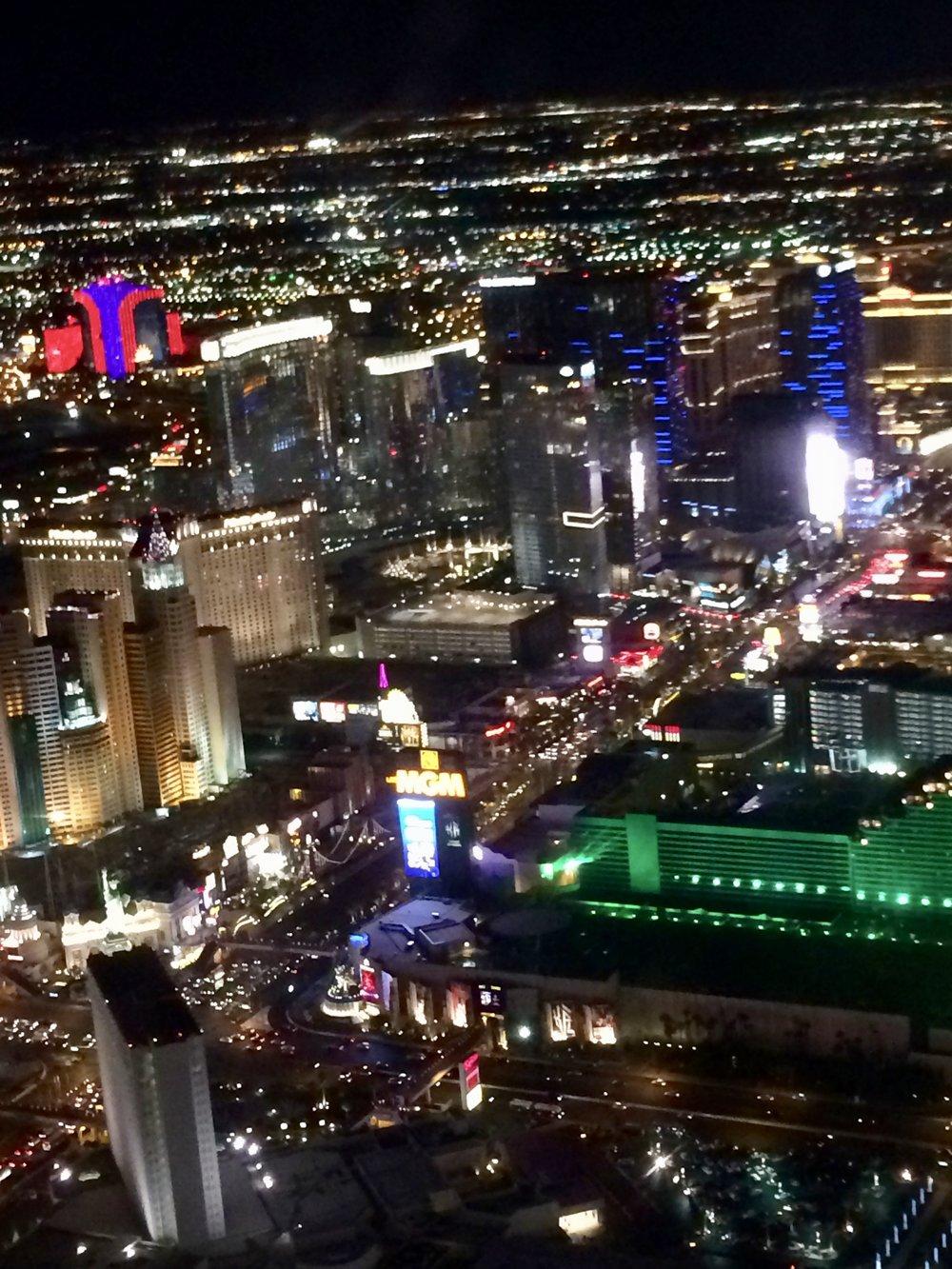 Las Vegas by night -