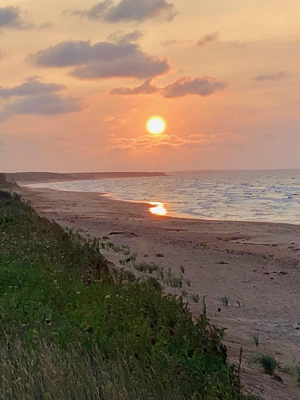 Sonnenuntergang auf Prince Edward Island, Kanada