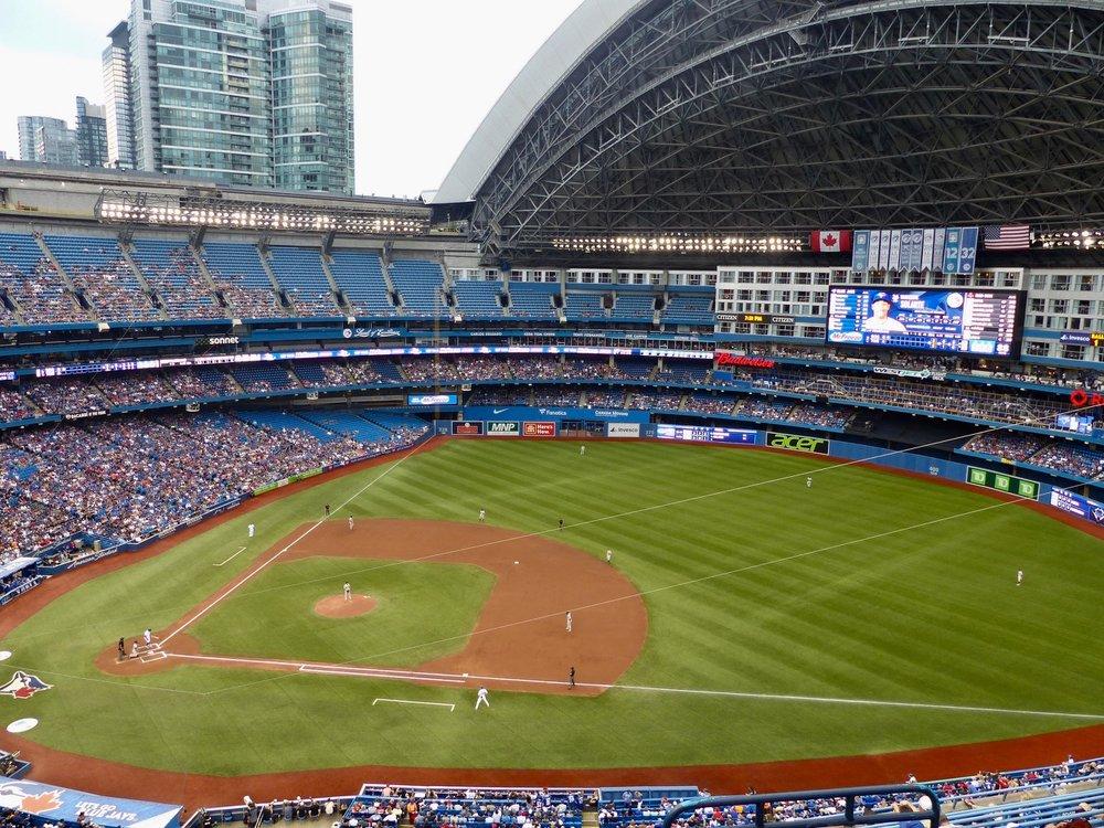 Baseball im Rogers Centre, Toronto