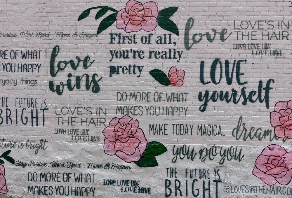 Graffiti Wand in Toronto