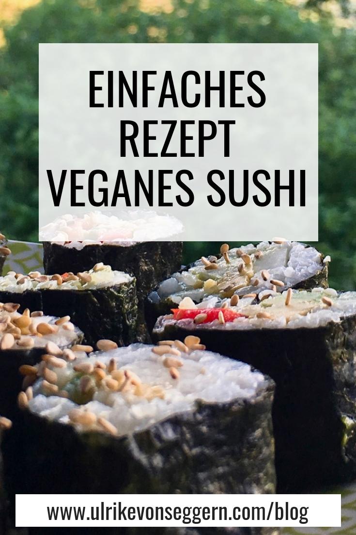 pdf zum Runterladen - Hier habe ich noch die Anleitung als pdf zum Ausdrucken für Dich: Anleitung veganes Sushi einfach selbst machen
