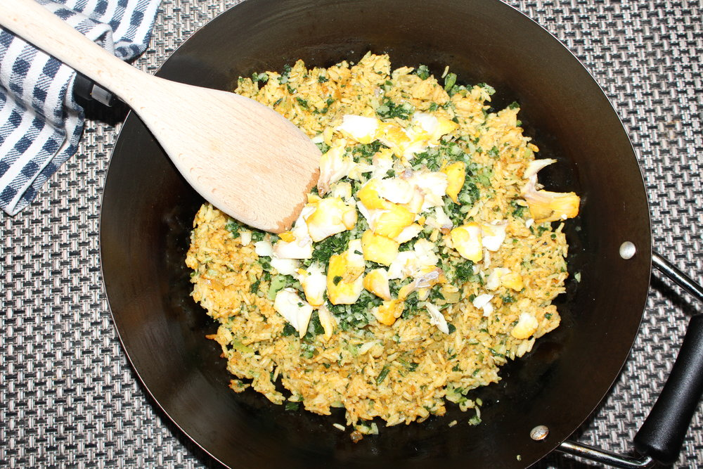 ASIAN SPICE FUSIAN KEDGEREE WITH OPTIONAL SMOCKED HADDOCK