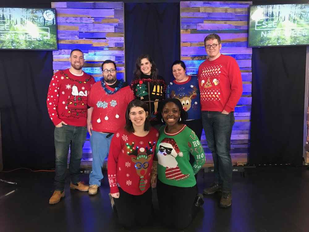 Ugly sweater sunday - The 3 ugliest sweaters win prizes...