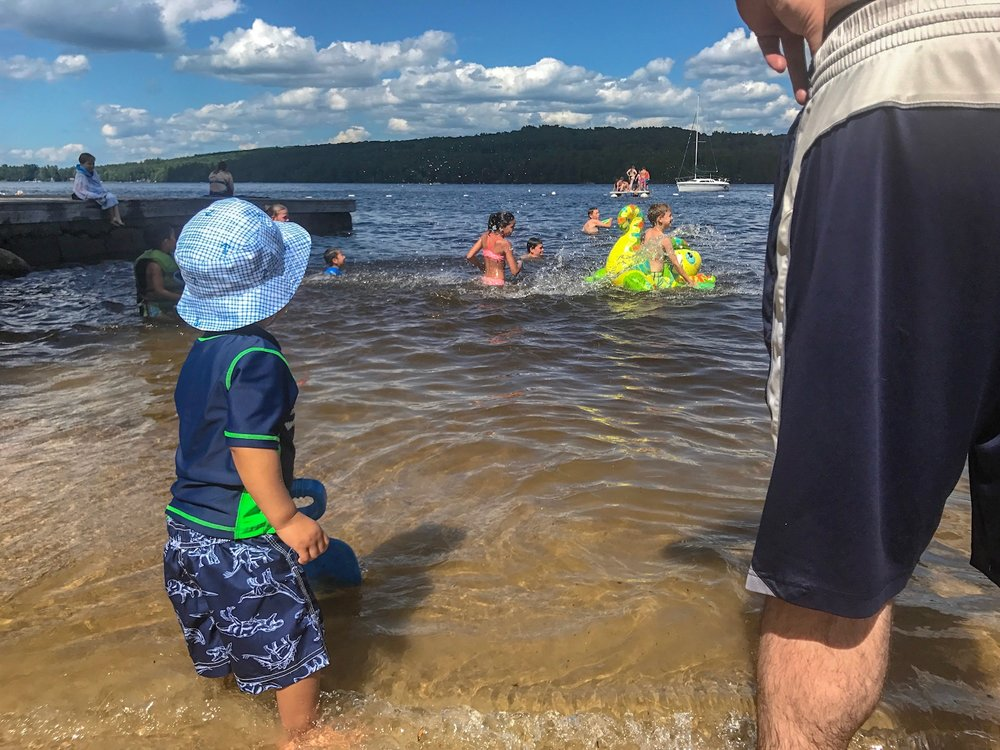 BEACH DAY - Family fun at popham beach!