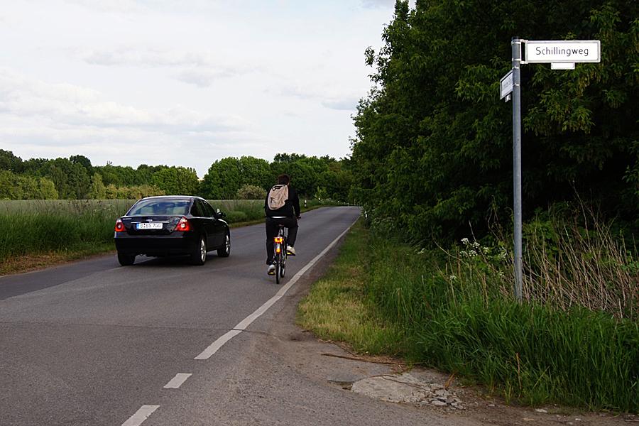 Die Verkehrssituation in der Elisabethaue