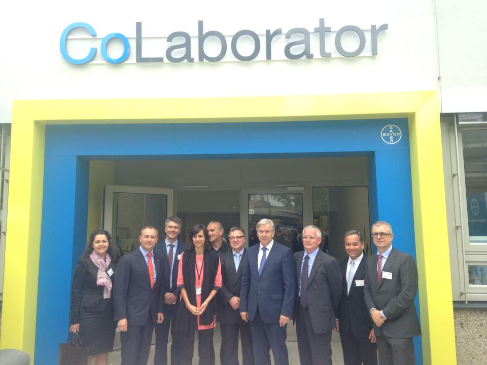 Eröffnung des CoLaborators bei Bayer in Berlin