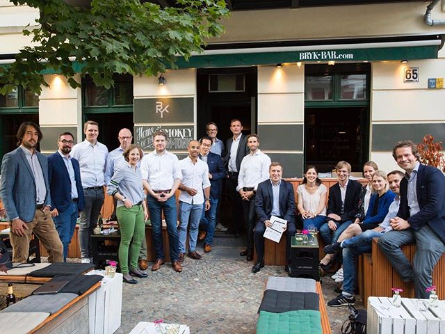 Great ideas, intensive discussions, inspiring evening. Thanks #bertelsmannstiftung and #30unter40 for handing over their #roadmapdg supporting #digitalhealth #movingforward