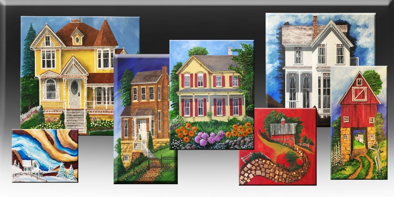 ArchitecturalVisions are Paul's newest addition to his creative passion. Large format paintings of landscapes and buildings. Oil paint and acrylic paint are applied to the canvas ranging in sizes from 5×20″ to 5×5 feet. The environment will never be the same. CLICK HERE
