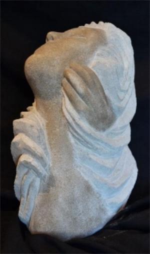 """StoneWavesTouch"" - 20"" - Limestone - $2000"