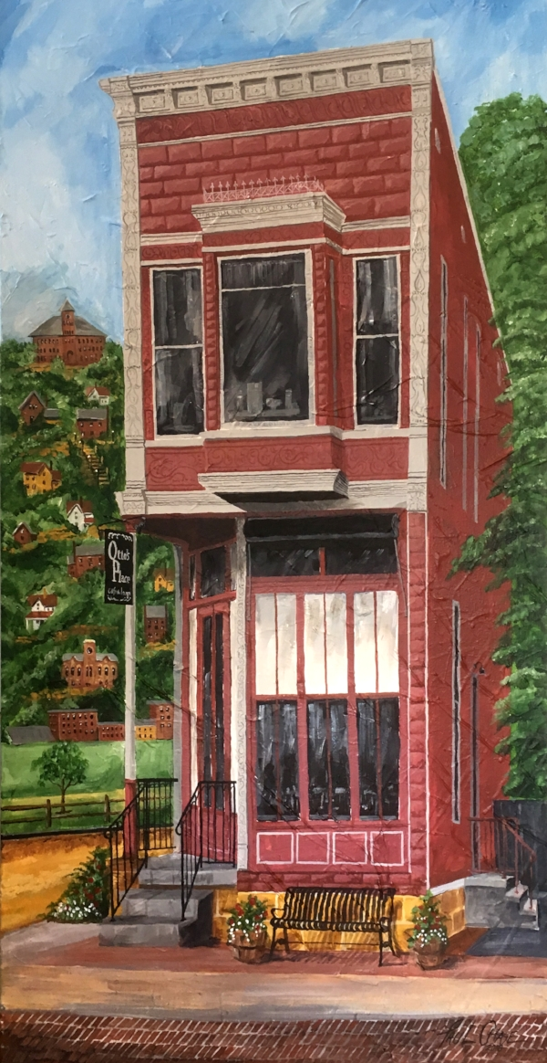 """Otto's Place"" - 24x48"" - acrylic - $1000"