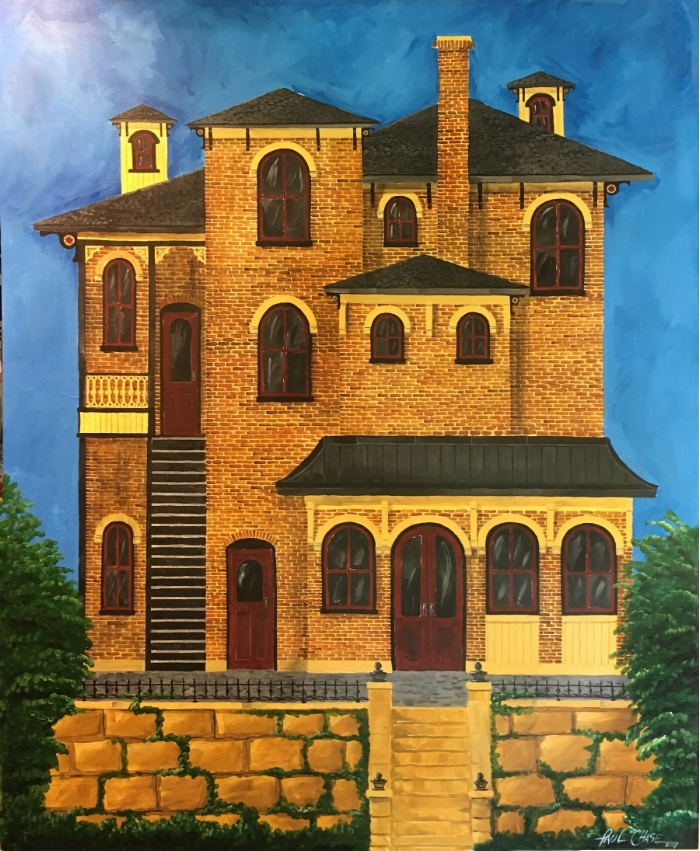 """OchreSiennaAndRed"" - 50x64"" - Acrylic on canvas - $2500"