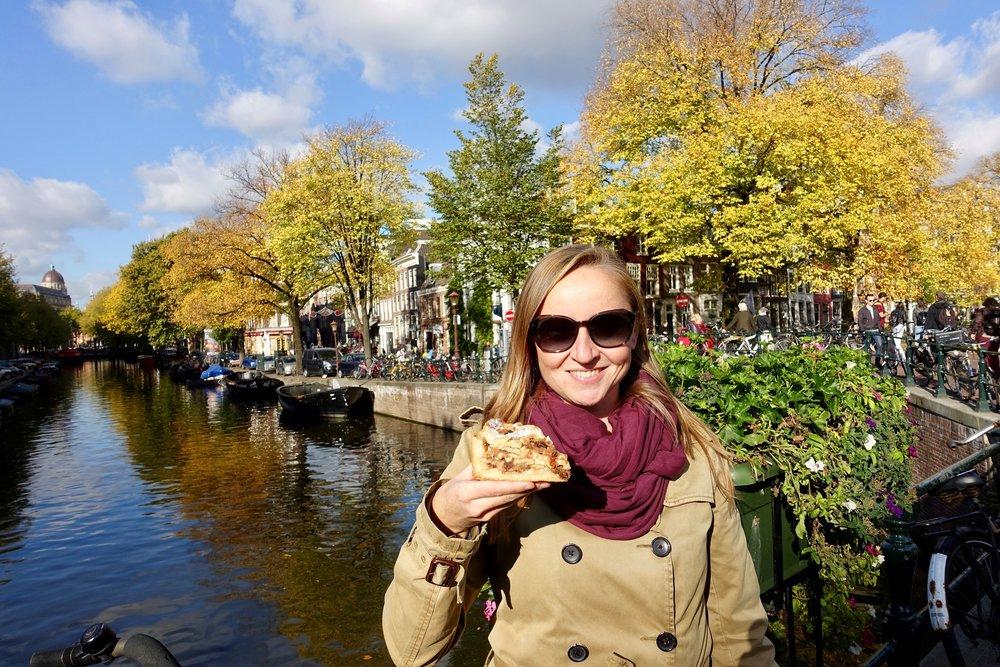 Vicky Hampton, Amsterdam Foodie