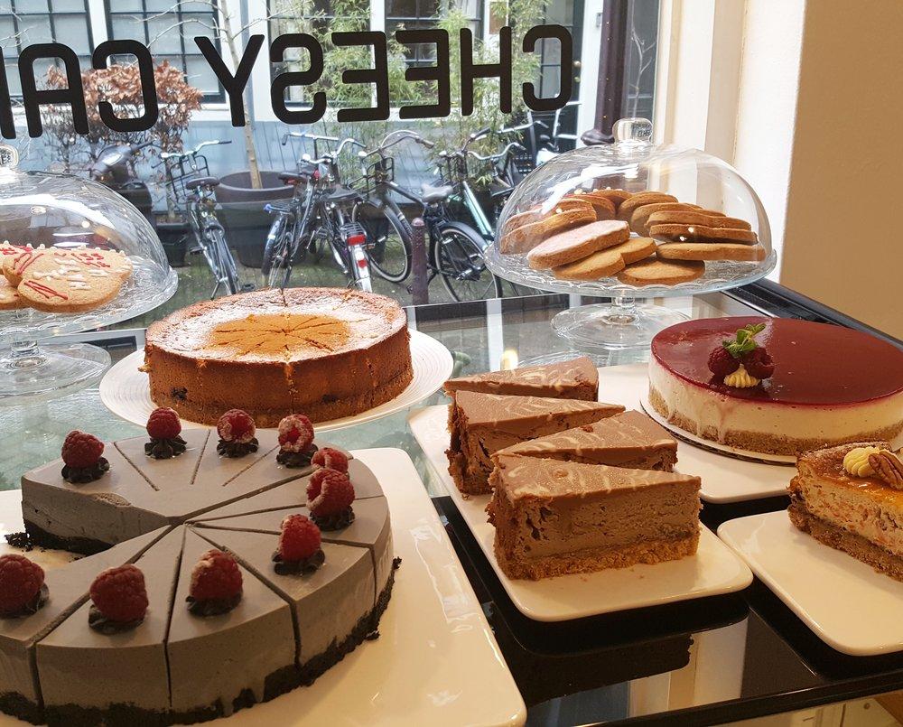 CHEESY CAKES, AMSTERDAM.