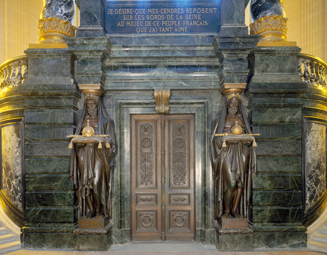 Doors to crypt of Napoleon