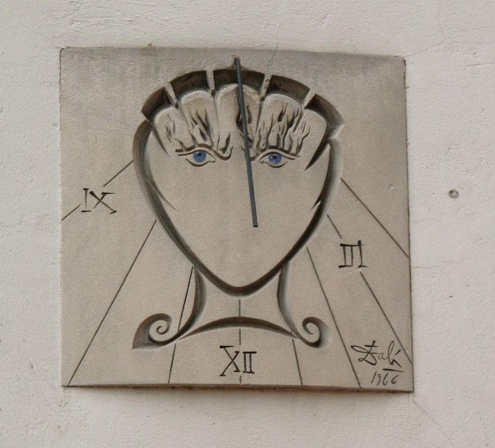 Salvador Dali Sundial