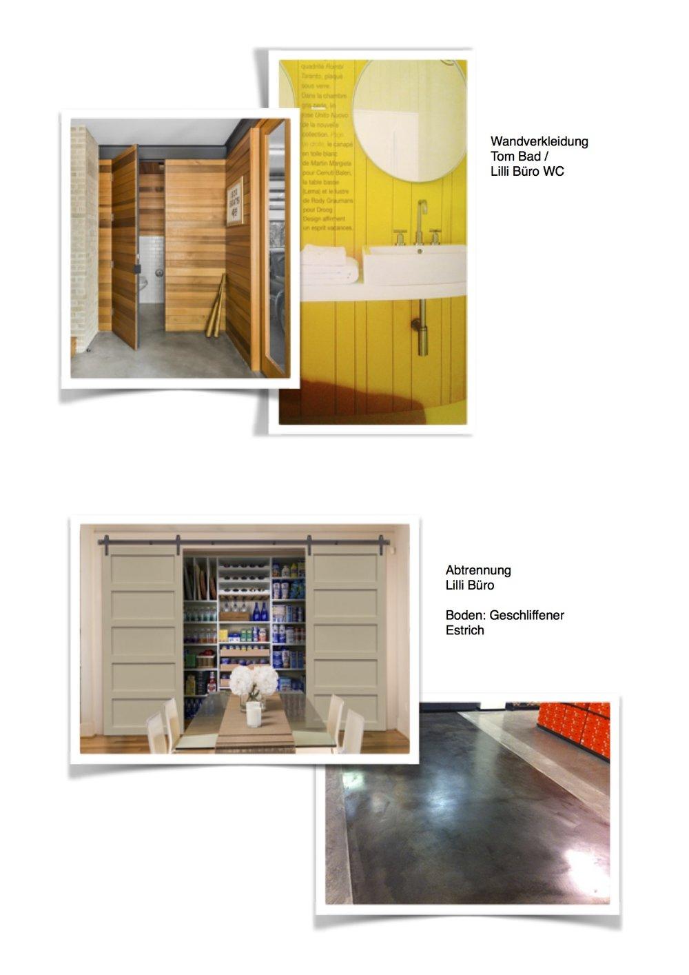 Anja Lehne - Leistungen — ANJA LEHNE - interior design