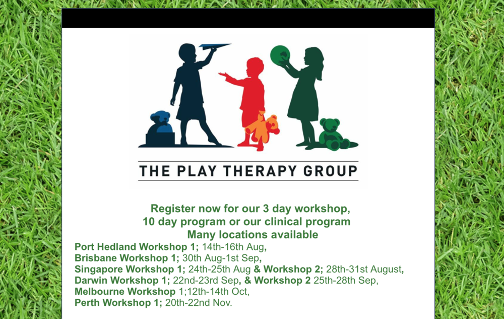 Click the ad and head to http://www.playtherapyaustralia.com