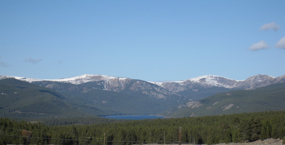 Turquoise Lake from Leadville
