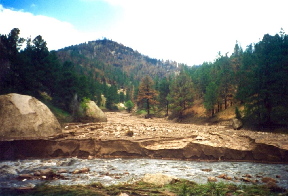 Spring Creek debris flow fan