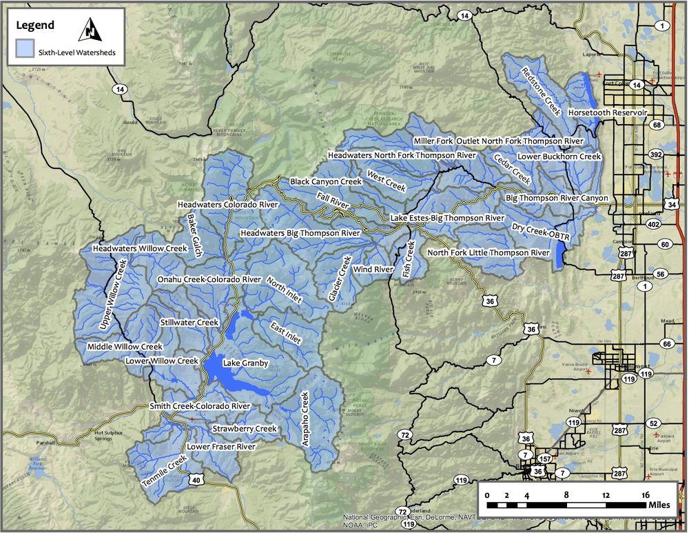 C-BT Watersheds
