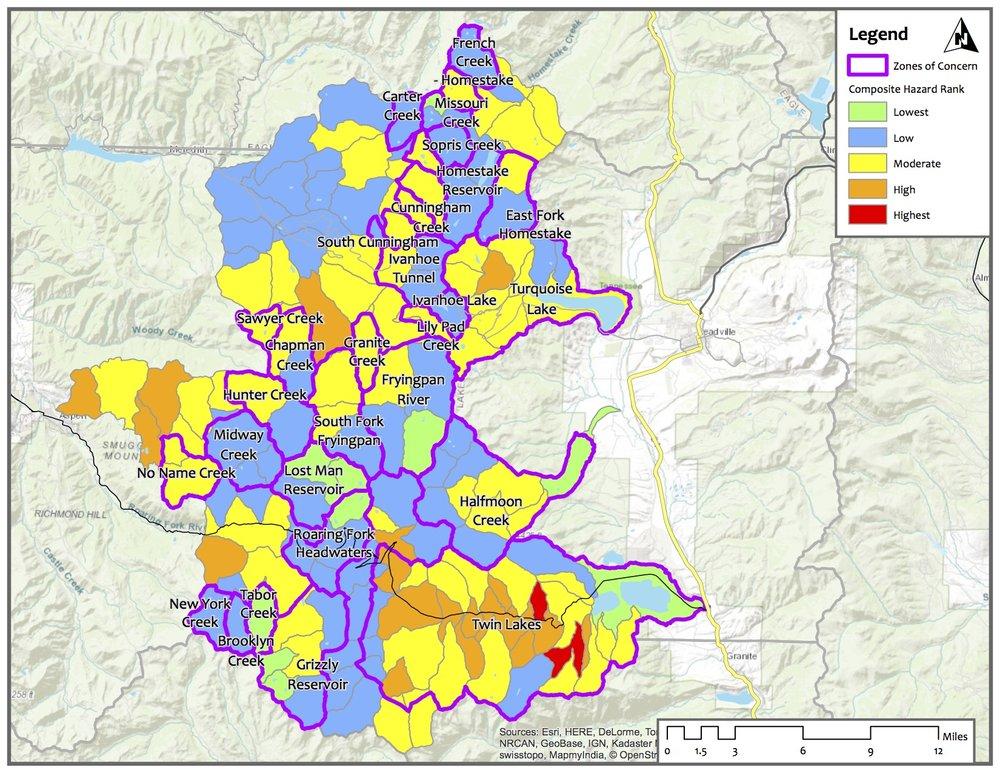 Upper Watershed Hazard Priority