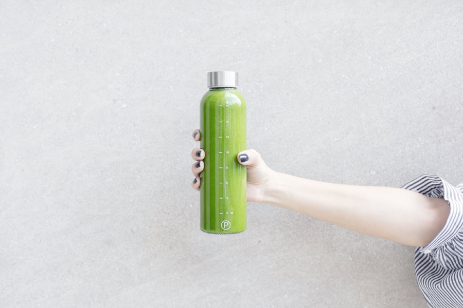 with some flourish green smoothie recipe