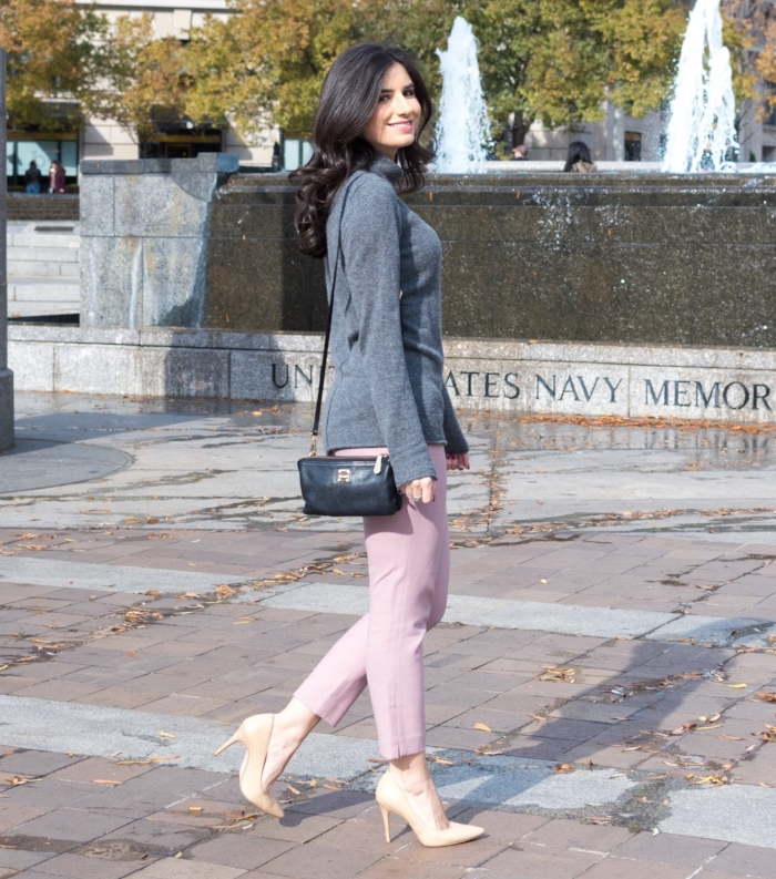 Cashmere and Pastel Outfit
