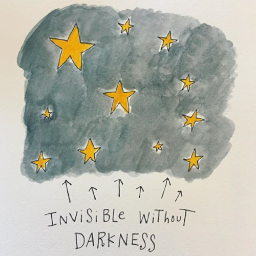 Invisible without Darkness by Mari Andrew