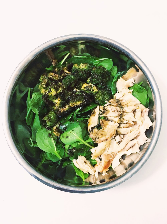 Roasted Broccoli Rotisserie Chicken Salad Recipe